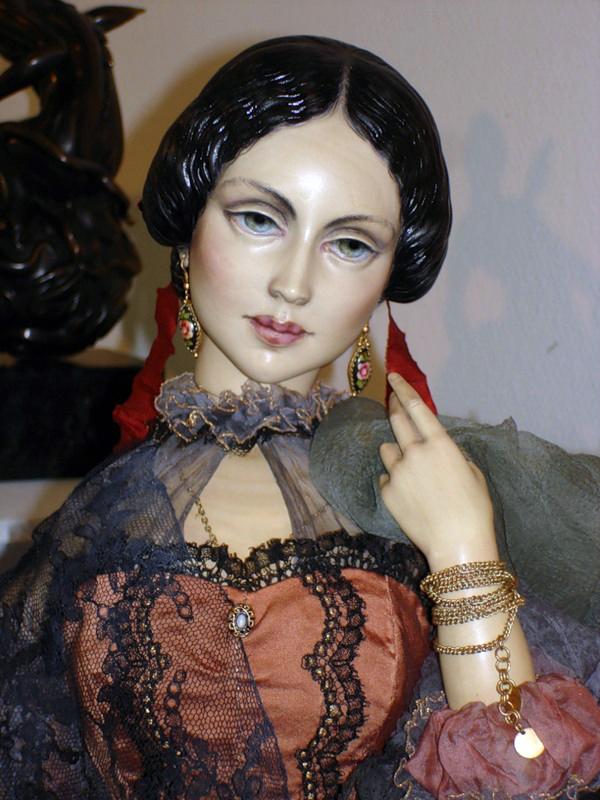 Gipsy woman (Nastasia Filippovna)-0