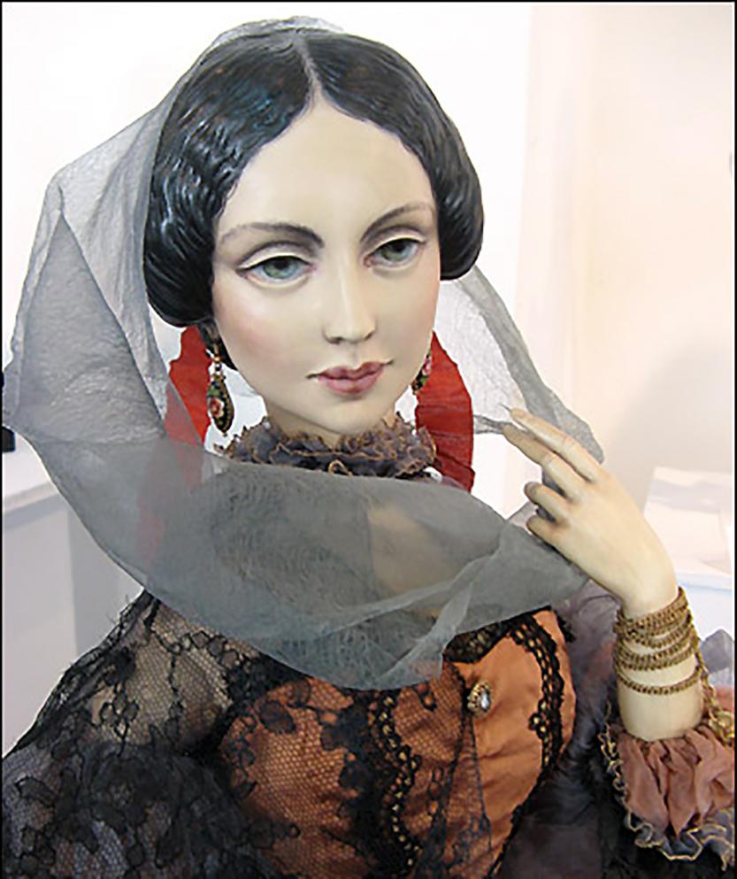 Gipsy woman (Nastasia Filippovna)-1
